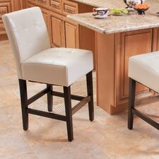 Romeo Leather Barstool