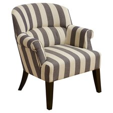 Drake Stripe Club Chair