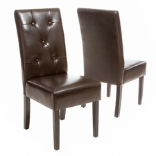 <strong>Home Loft Concept</strong> Carter 5-Tufted KD Side Chair (Set of 2)