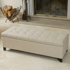 Trufant Tufted Fabric Storage Ottoman Bench