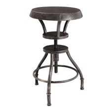 Lucian Iron Top Adjustable Barstool