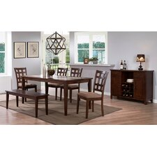 <strong>Urban Styles Furniture Corp.</strong> Montecito 6 Piece Dining Set