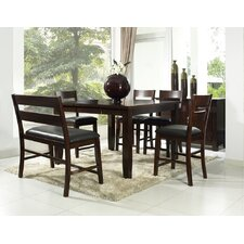 Alpine Ridge 6 Piece Counter Height Dining Set