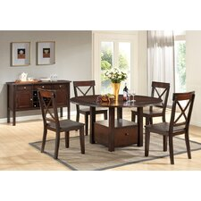 Jewel City 5 Piece Dining Set