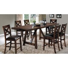 Velasco 7 Piece Counter Height Dining Set