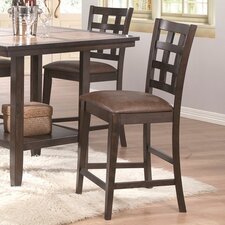 <strong>Urban Styles Furniture Corp.</strong> Montecito Bar Stool with Cushion (Set of 2)