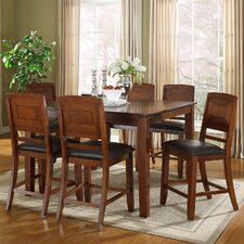 Savannah 7 Piece Counter Height Dining Set