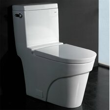 1.6 GPF Elongated Toilet 1 Piece
