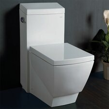 1.6 GPF Elongated 1 Piece Toilet