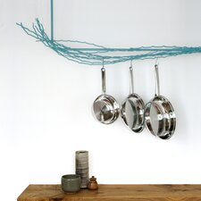 L Shaped Pot Rack