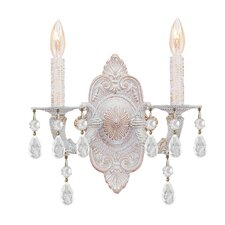 Sutton 2 Light Candle Wall Sconce