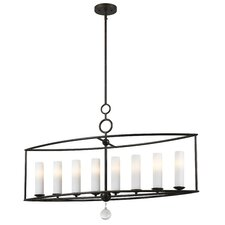 Cameron 8 Light Candle Chandelier