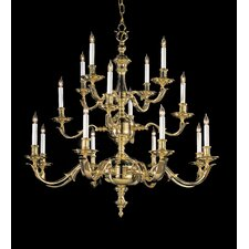 Colonial 8 Light Chandelier