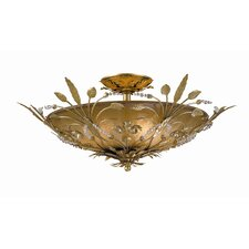 Primrose 6 Light Semi Flush Mount