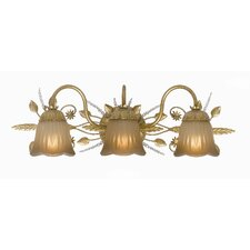 <strong>Crystorama</strong> Primrose 3 Light Vanity Light