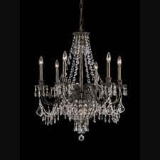 <strong>Crystorama</strong> Vanderbilt 6 Light Chandelier