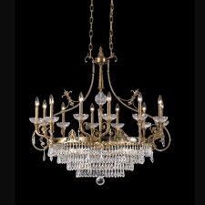 <strong>Crystorama</strong> Regal 12 Light Chandelier