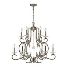 <strong>Crystorama</strong> Orleans 12 Light Chandelier