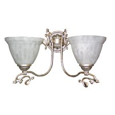 Charleston 2 Light Wall Sconce