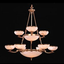 <strong>Crystorama</strong> European Classic Seventeen Light Chandelier in Olde Brass