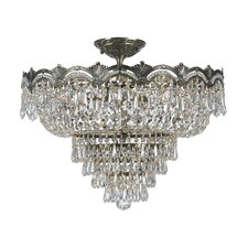 Majestic 5 Light Semi Flush Mount