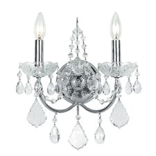 Imperial 2 Light Candle Wall Sconce