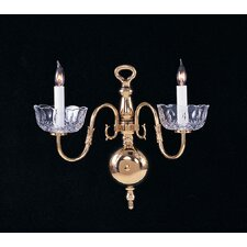 Colonial 2 Light Wall Sconce