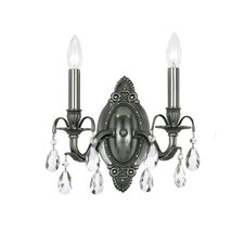 <strong>Crystorama</strong> Dawson 2 Light Wall Sconce