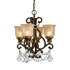 Norwalk 4 Light Semi Flush Mount