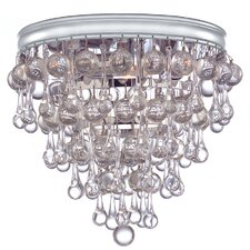 Chloe 3 Light Flush Mount