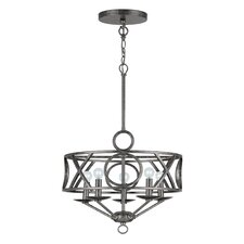 <strong>Crystorama</strong> Odette 5 Light Chandelier