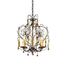 Ella 3 Light Mini Candle Chandelier