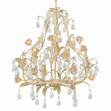 Athena 6 Light Candle Chandelier