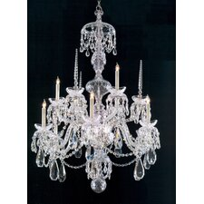 Traditional Crystal 9 Light Chandelier