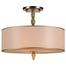 Luxo 3 Light Chandelier