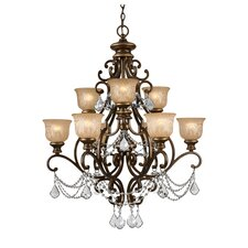 Norwalk 9 Light Chandelier