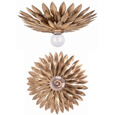 Broche 1 Light Ceiling/Wall Light