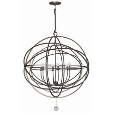 Solaris 6 Light Chandelier