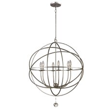 Solaris 6 Light Foyer Pendant