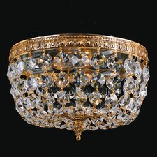 Bohemian Crystal 2 Light Flush Mount
