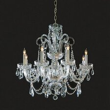 Bohemian Crystal   Candle Chandelier