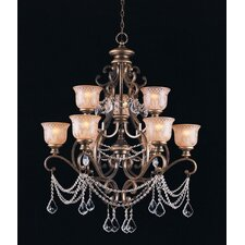 Norwalk 9 Light Crystal Chandelier