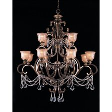 Norwalk 12 Light Crystal Chandelier