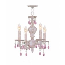 Sutton 4 Light Mini Chandelier