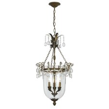 New Town 3 Light Foyer Pendant