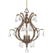 <strong>Crystorama</strong> Dawson 3 Light Chandelier