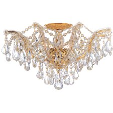 Maria Theresa 5 Light Semi Flush Mount