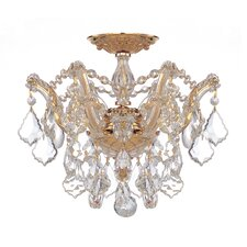 Maria Theresa 3 Light Semi Flush Mount