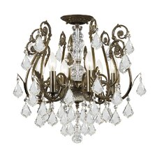 Imperial 6 Light Semi Flush Mount
