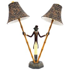 Bellhop Monkey Table Lamp